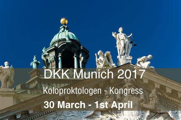Deutschen Koloproktologen Kongress in München.